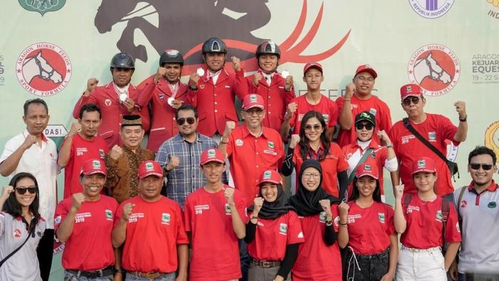DKI Jakarta juara Kejurnas Equestrian 2019 (dok.Pordasi Jakarta)