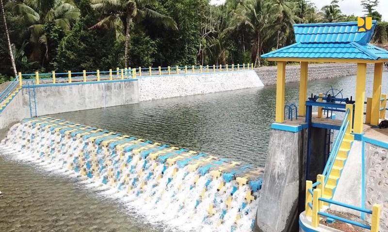 Ri Punya Teknologi Penahan Air Bentuknya Blok Blok Beton Foto 5