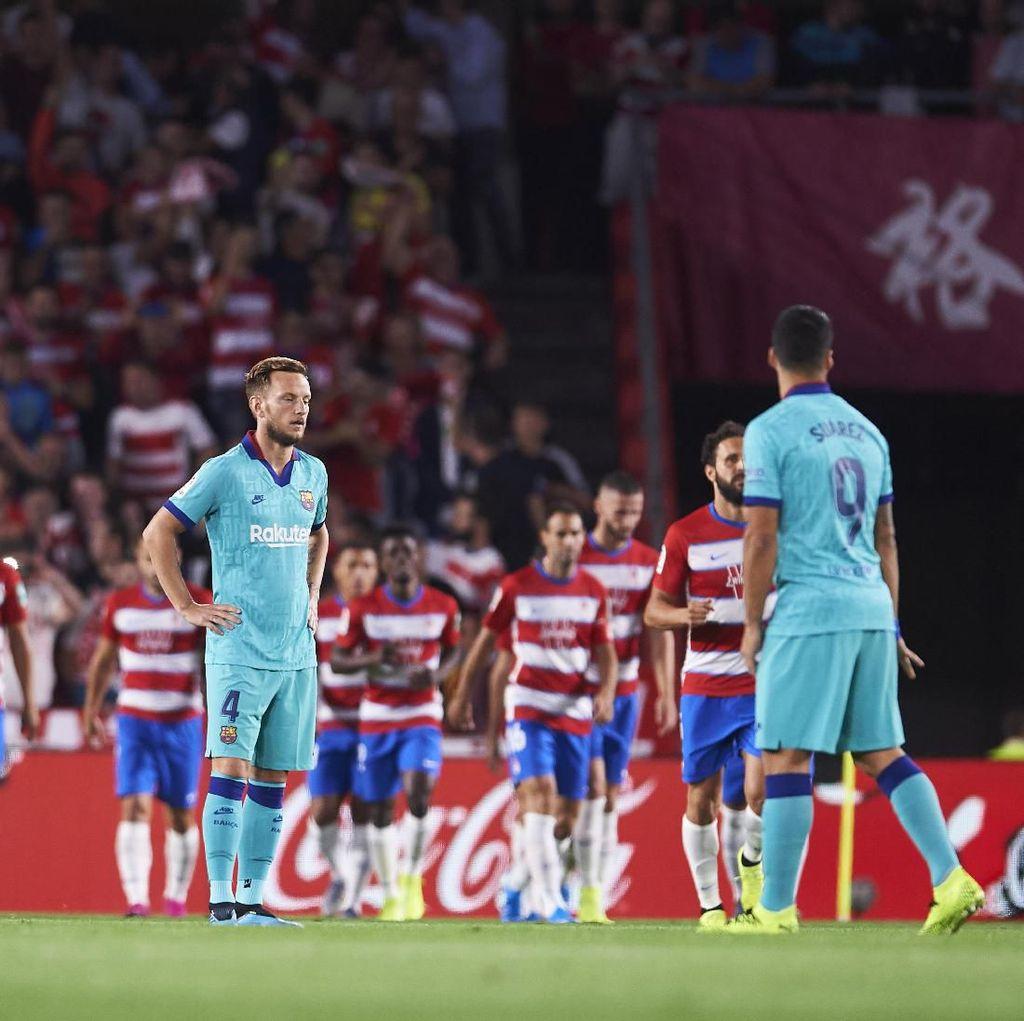 Start Terburuk Barcelona di LaLiga dalam 25 Tahun