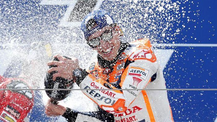 Marc Marquez makin kukuh di puncak klasemen MotoGP 2019 (Albert Gea/REUTERS)