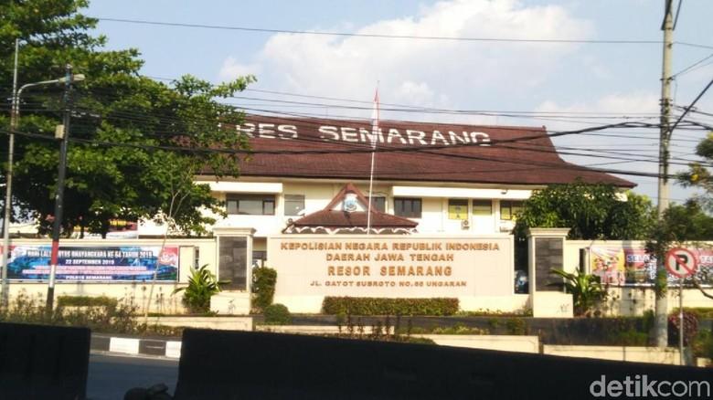 Polisi Bekuk 5 Tahanan yang Kabur dari Mapolres Semarang
