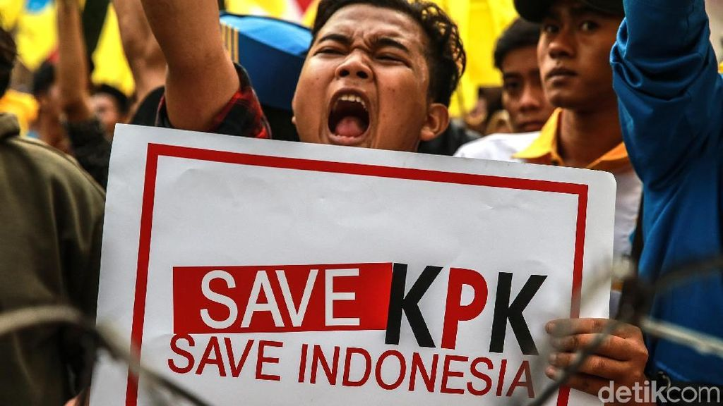 Pankas Unhas Minta Jokowi Diminta Segera Terbitkan Perppu KPK
