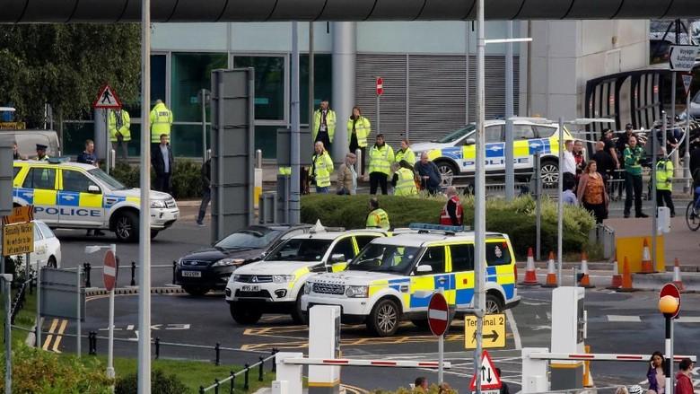 Paket Mencurigakan di Stasiun Kereta Bandara Manchester, 1 Pria Ditangkap