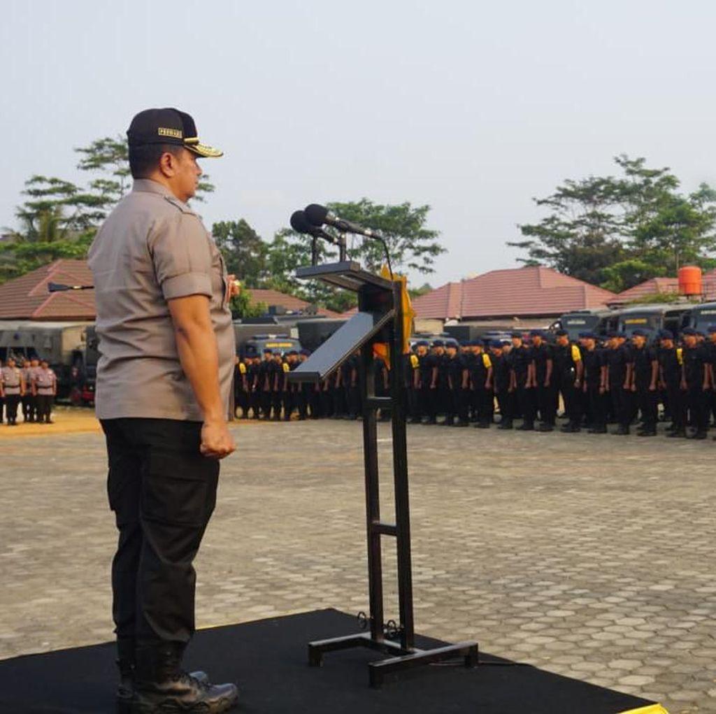 Bantu Amankan Demo Besok, 551 Brimob Polda Lampung Menyeberang ke Jakarta