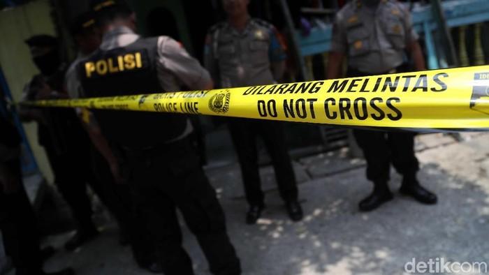 Ilustrasi penangkapan teroris (Pradita Utama/detikcom)