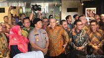 Mesranya Pimpinan KPK Alexander Marwata dengan Jajaran Komisi III DPR