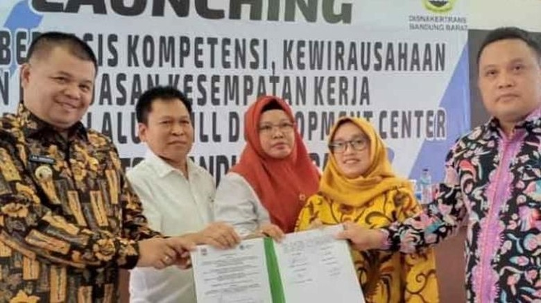 Kemnaker Dukung Pemda Bandung Barat Luncurkan Pelatihan Terintegrasi