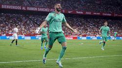Sevilla Vs Real Madrid: Gol Tunggal Benzema Menangkan Los Blancos