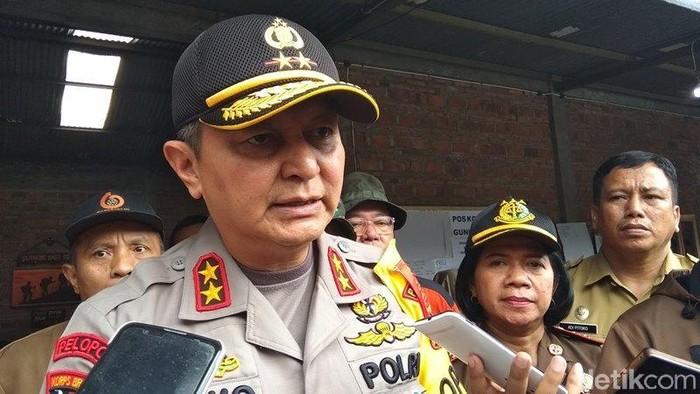 Kapolda Jawa Tengah, Irjen Pol Rycko Amelza Dahniel saat berada di Temanggung. Foto: Eko Susanto/detikcom