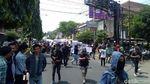 Potret Massa Aksi #GejayanMemanggil Mulai Berkumpul di Yogyakarta