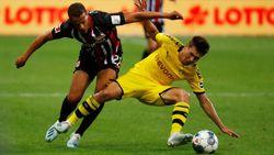 Sempat Unggul Dua Kali, Dortmund Ditahan Frankfurt 2-2