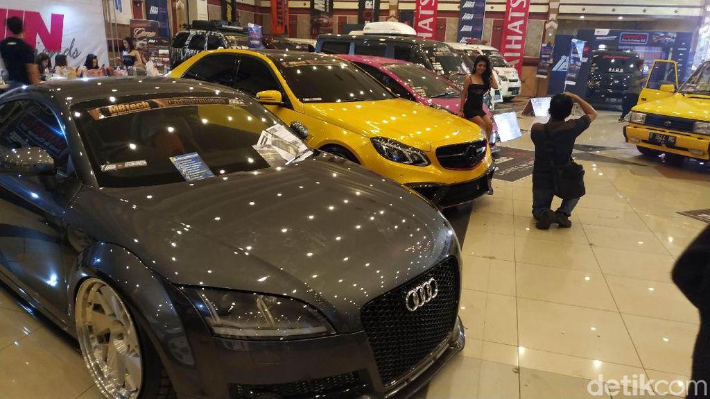 110 Mobil Adu Ganteng di Bandung