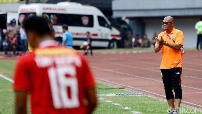 Sudirman pelatih sementara Persija Jakarta (Rachman Haryanto/detikSport)