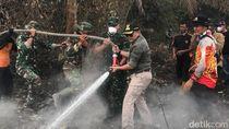 Pemadaman Karhutla di Muba Sumsel Terkendala Akses Sulit