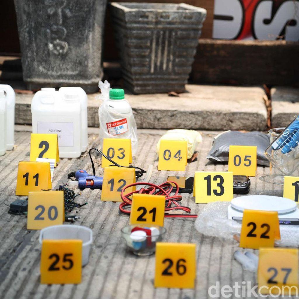 Total 9 Orang Terduga Teroris Ditangkap di Bekasi dan Jakarta
