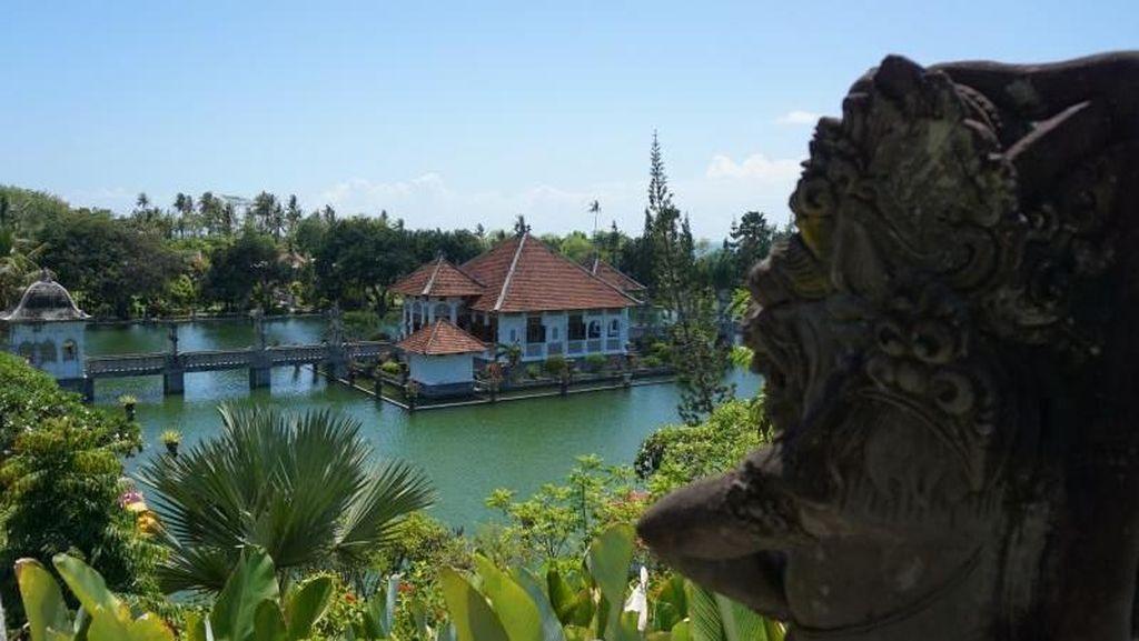 Foto: Mengintip Taman Kerajaan Bali Kuno