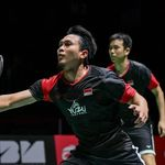 Ahsan/Hendra & Jonatan ke Perempatfinal Fuzhou China Open lewat Duel 3 Gim
