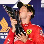 Vettel Akhirnya Menang Juga!
