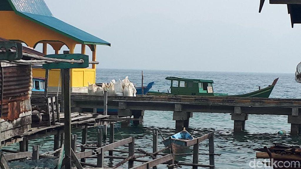 Asap Karhutla Masih Selimuti Pulau Natuna Kepri