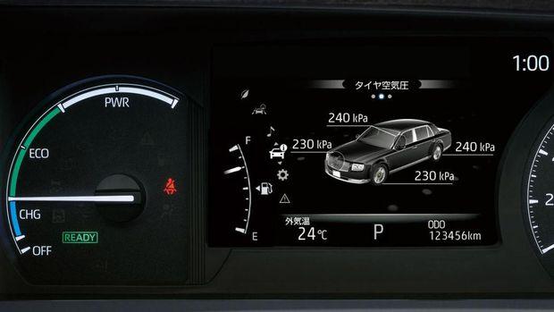 Mobil Toyota untuk Kaisar Naruhito