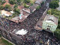 Penampakan Massa Aksi 'Gejayan Memanggil' dari Udara