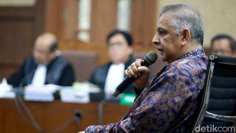 Sofyan Basir Baca Pleidoi: KPK Terlalu Nafsu Jadikan Saya Tersangka