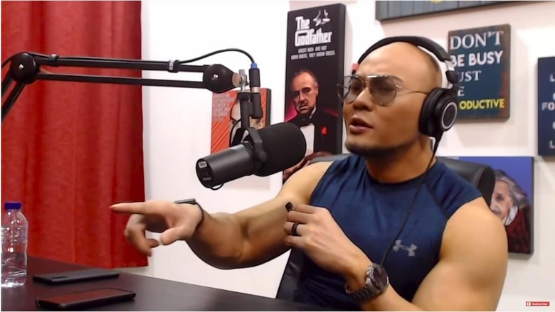 Deddy Corbuzier Foto: dok. Channel YouTube Deddy Corbuzier
