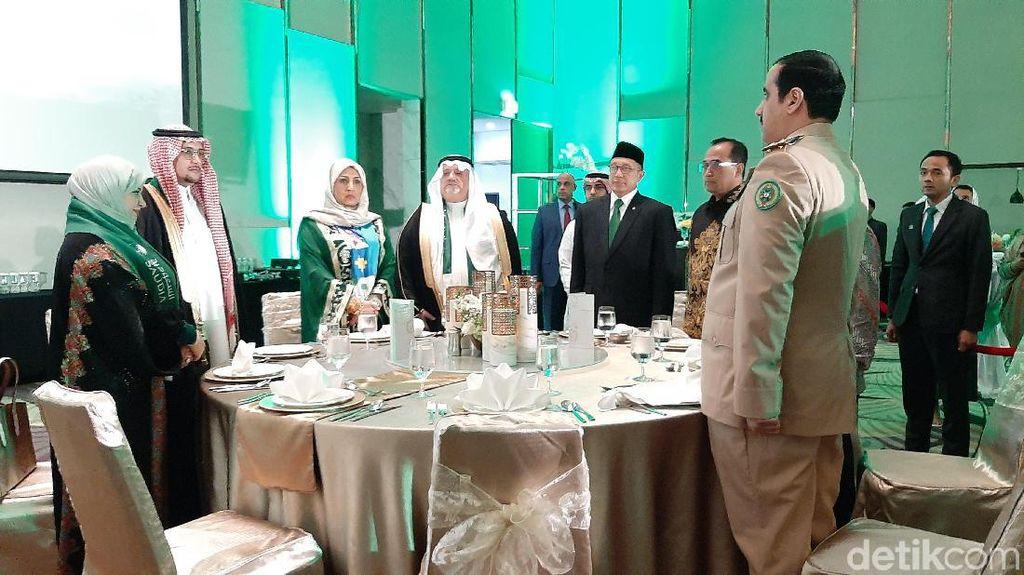 Menteri Jokowi Hingga Anies Hadiri Peringatan Hari Nasional Arab Saudi