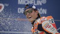 Rival Tak Konsisten, Marquez Mulus Menuju Takhta Juara Dunia