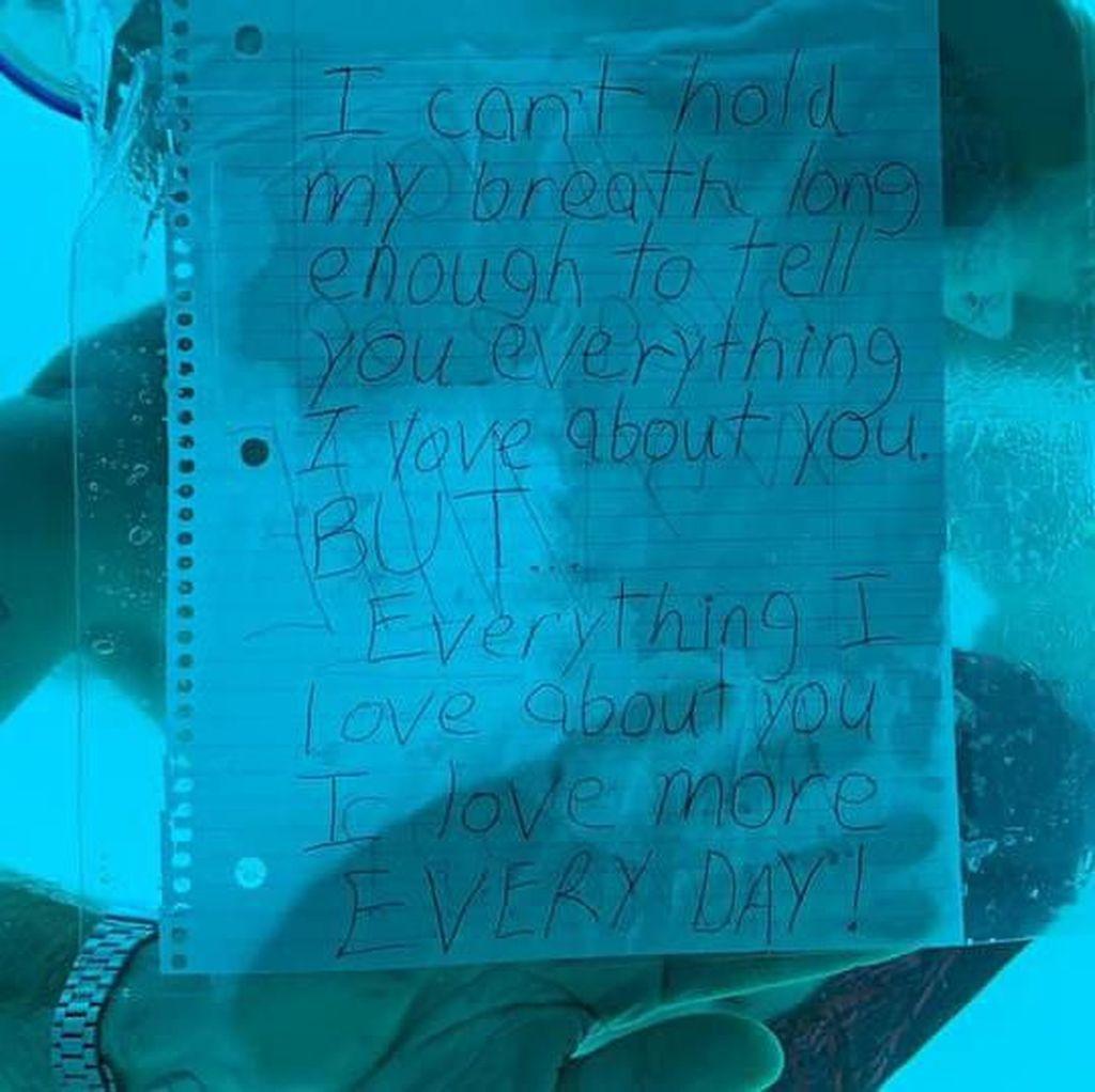 Video Pria AS Tewas Tenggelam saat Lamar Kekasih di Kedalaman Laut