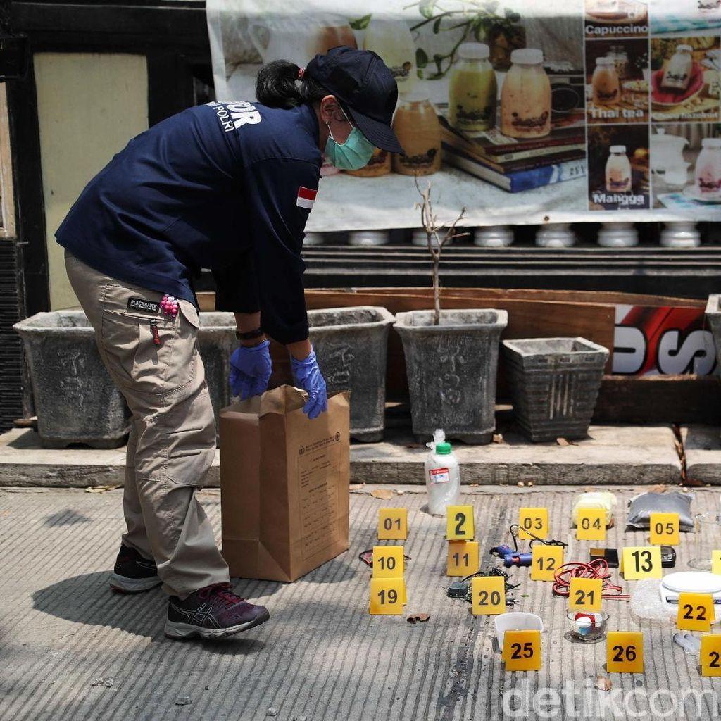 Polisi Sebut Bom TATP Milik Terduga Teroris di Jakut Berdaya Ledak Tinggi