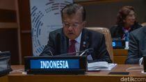 Di Markas PBB, JK Tekankan 3 Prioritas untuk Selamatkan Laut