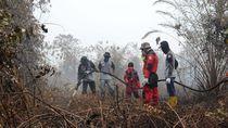 Bantu Padamkan Karhutla Riau, Pertamina Dumai Turunkan Patrapala