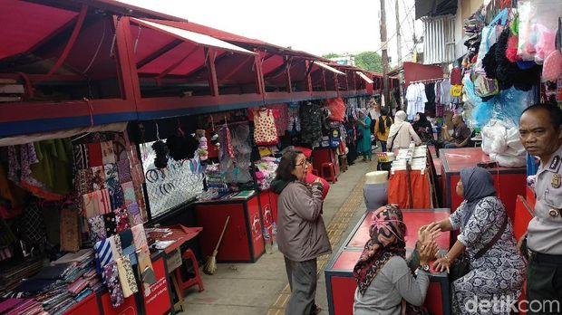 Jelang Hari Jadi Kota Bandung, Penataan PKL Cicadas Baru 40 Persen