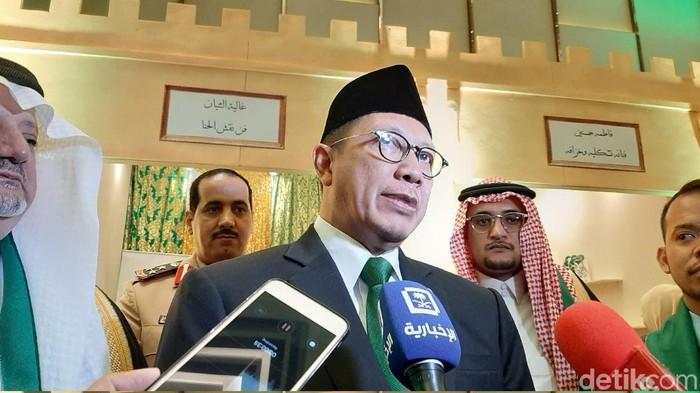 Menteri Agama Lukman Hakim Saifuddin (Lisye Sri Rahayu/detikcom)