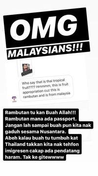 Orang Malaysia Sebut Rambutan Buah Asli Negaranya, Netizen Protes Keras