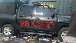 Tentang Raisa, Mobil Pengurai Massa yang Dirusak Demonstran