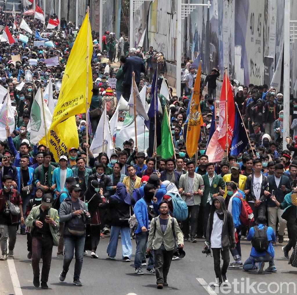 Desak Jokowi Terbitkan Perppu KPK, BEM SI Kembali Gelar Aksi Siang Ini