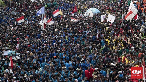 Titik Panas Demo Mahasiswa di Jakarta
