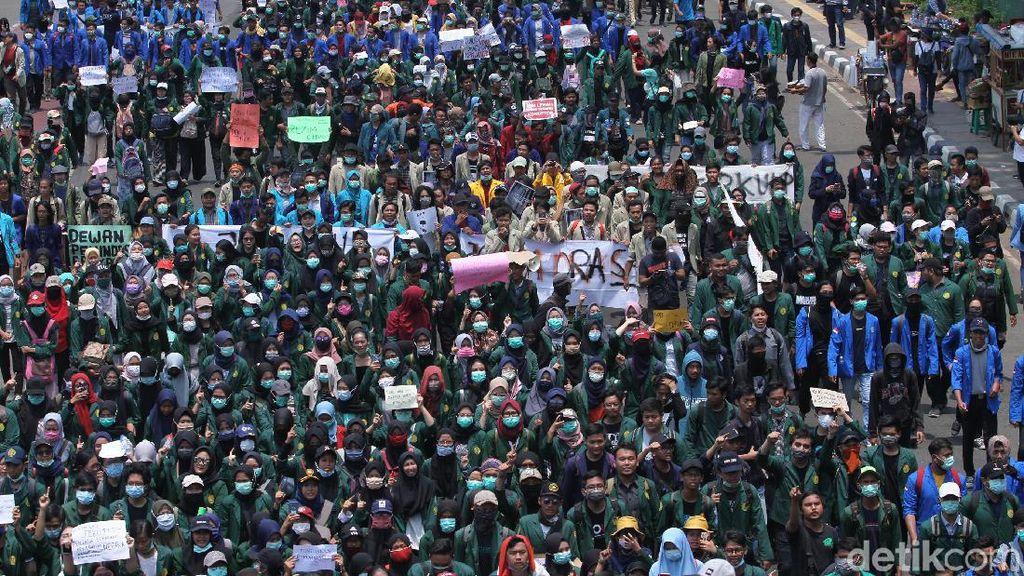 Besok, BEM SI Gelar Demo Desak Jokowi Terbitkan Perppu KPK
