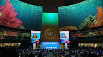 JK Singgung Karhutla Saat Pertemuan Tentang Iklim di PBB