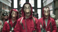 Asal-usul Topeng Salvador Dali di Serial Money Heist