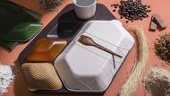 Keren! Tempat Makanan di Pesawat Ini Terbuat dari Bahan Alami yang Bisa Dimakan