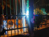Pagar Gedung DPR yang Jebol Saat Ricuh Demo Mahasiswa Mulai Diperbaiki