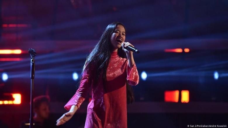 Claudia Emmanuela Santoso, Siswa Cirebon Memukau Juri The Voice of Germany