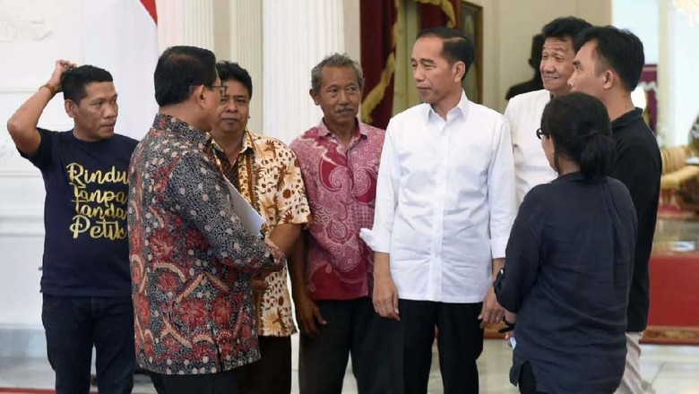 Mahasiswa Demo di Jakarta, Jokowi Terima Massa Aksi Petani