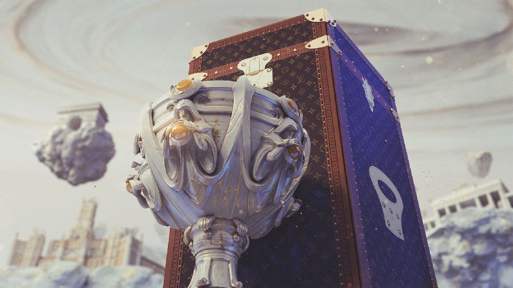 Pertama Kali, Louis Vuitton Ciptakan Koper Piala Game Online