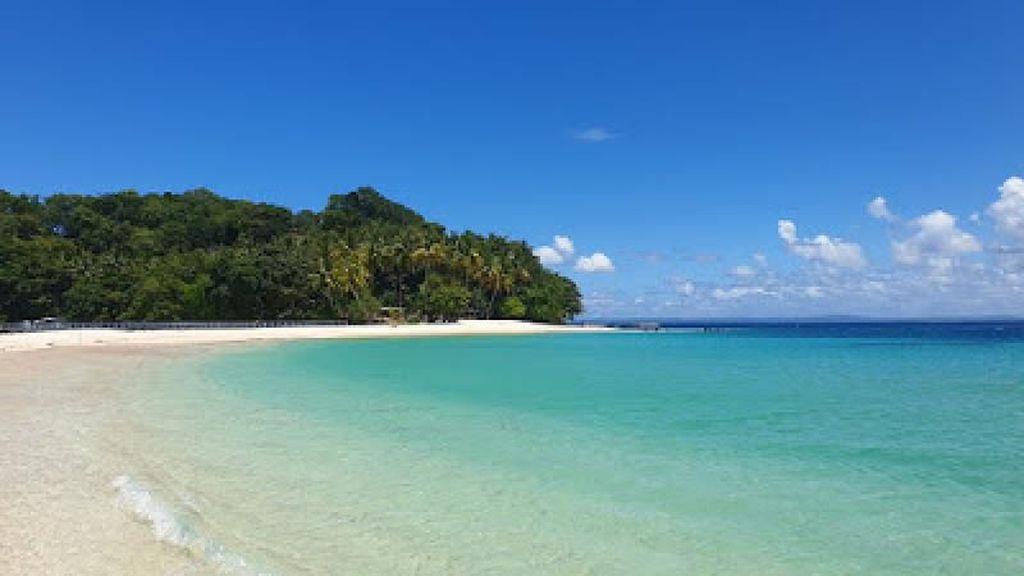 Cantiknya Pulau Matan yang Mengalahkan Mantan