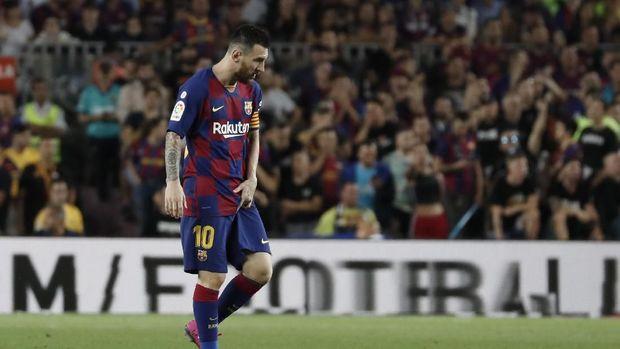 Lionel Messi kalah dari Cristiano Ronaldo sebagai atlet paling dikagumi. (