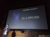 Huawei Nova 5T Resmi Dirilis, Ini Harganya!